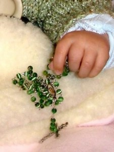 Baby Sydni's hand. A Father's Journey