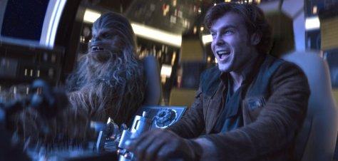 De nieuwe Han Solo recensie in IMAX