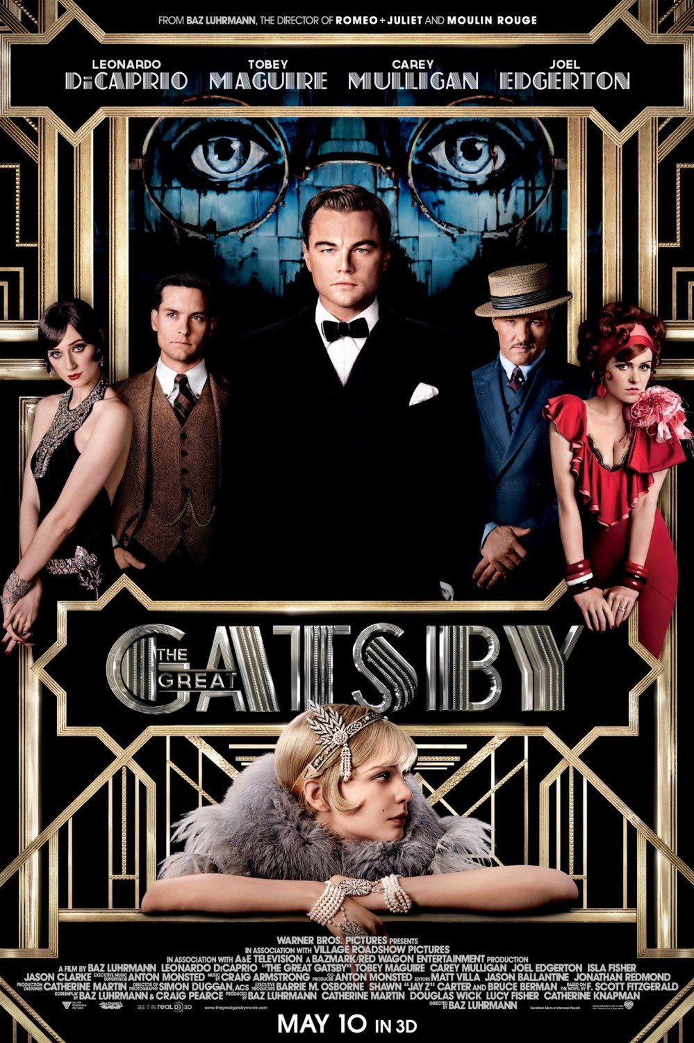 Image result for the great gatsby movie cover
