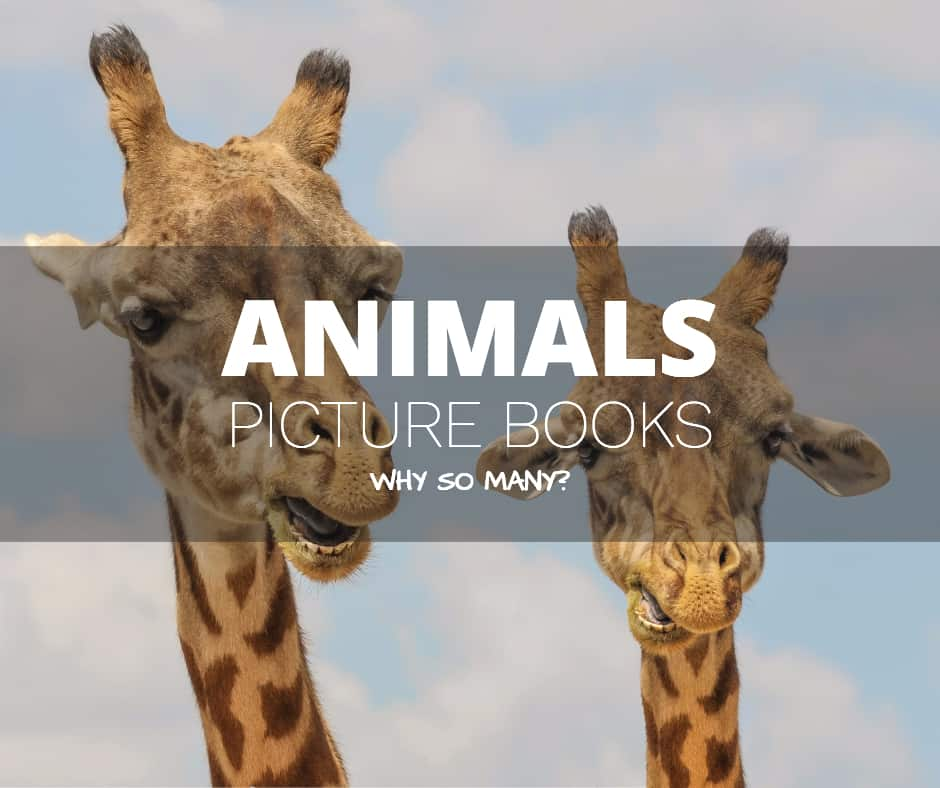 why so many animals in picture books