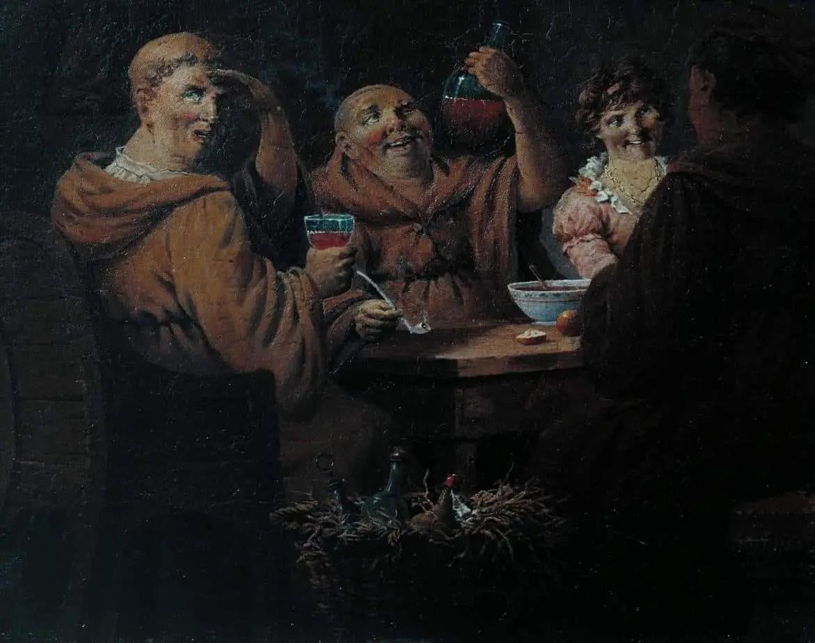 John Cranch Monks Merrymaking c.1804
