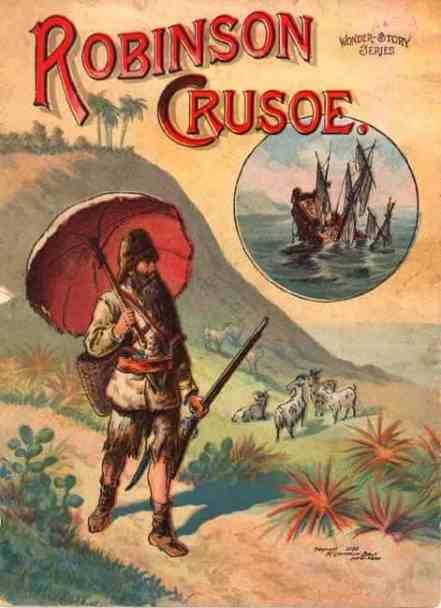 Robinson Crusoe cover