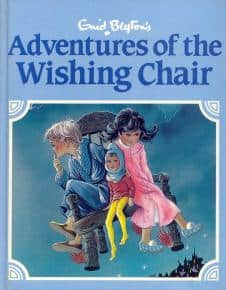 Enid Blyton's Wishing Chair books are basically a series of adventure in which flying first gets the children into trouble, then out again.