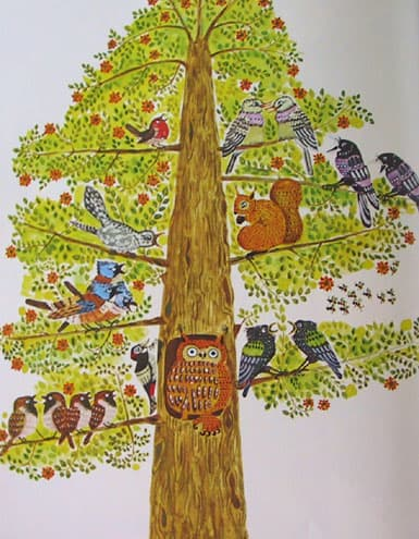 Pat Hutchins Goodnight Owl Tree