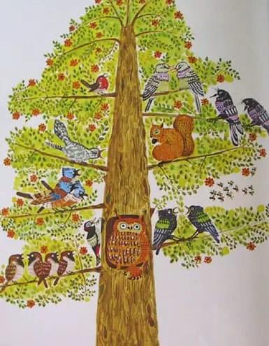 Pat Hutchins Goodnight Owl Tree