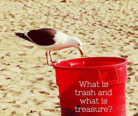 what is trash what is treasure