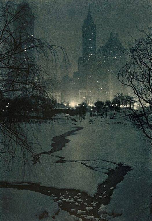 The White Night by Adolf Fassbender