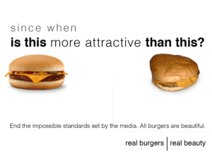 The burger spoof