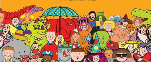 Nick Sharratt Colour Palette
