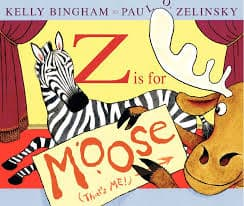 Z Is For Moose Cover