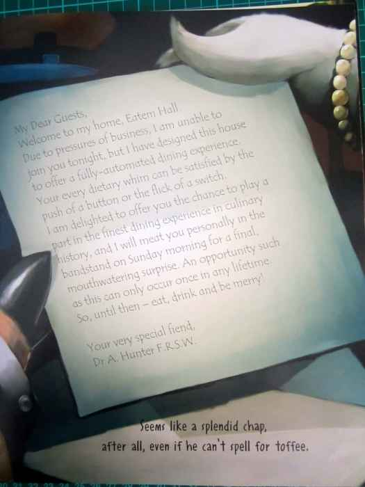 Letter From The Wolf