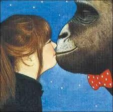 Anthony Browne Gorilla Kiss
