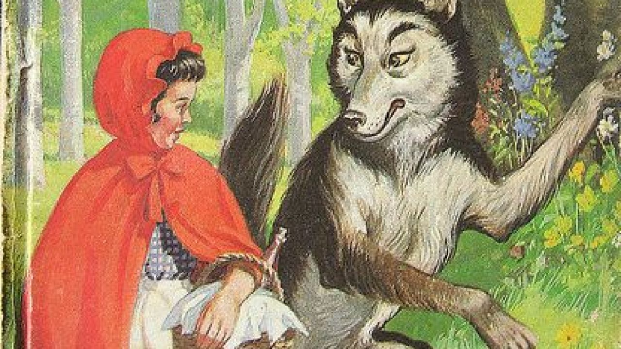 The Evolution Of Little Red Riding Hood Slap Happy Larry