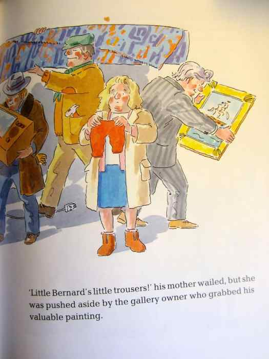 Wolf Comes To Town Little Bernard's Little Trousers