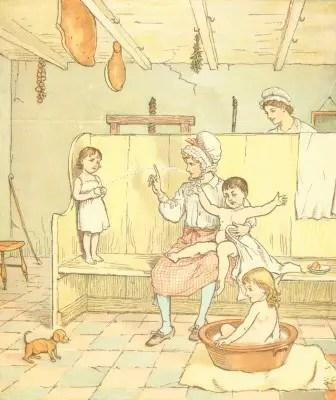 Scene from The Farmer's Boy