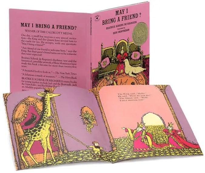 May I Bring A Friend book