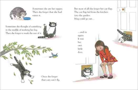 Mog The Forgetful Cat Action Pages