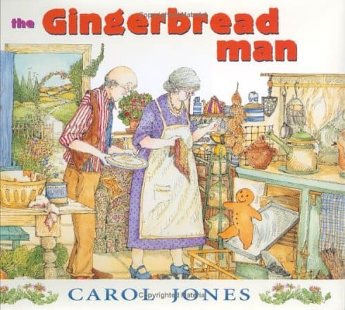 Gingerbread Man Carol Jones