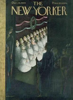 New Yorker Cover December 1949