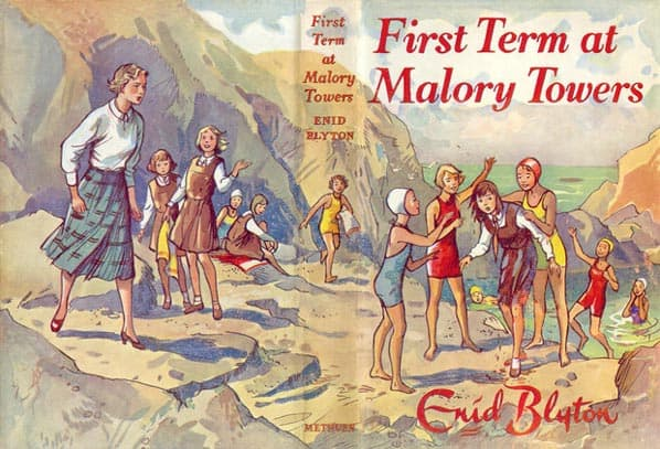 Enid Blyton was an instigator in the 1960s wave of boarding school stories. This one was first published 1946