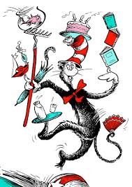 The Cat In The Hat is the ultimate carnivalesque character