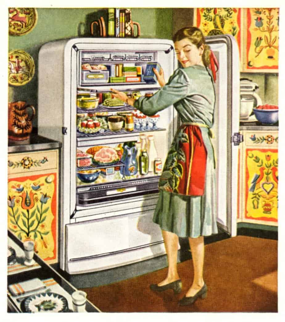 Frigidaire kitchen appliances from the November 1948 issue of The American Home