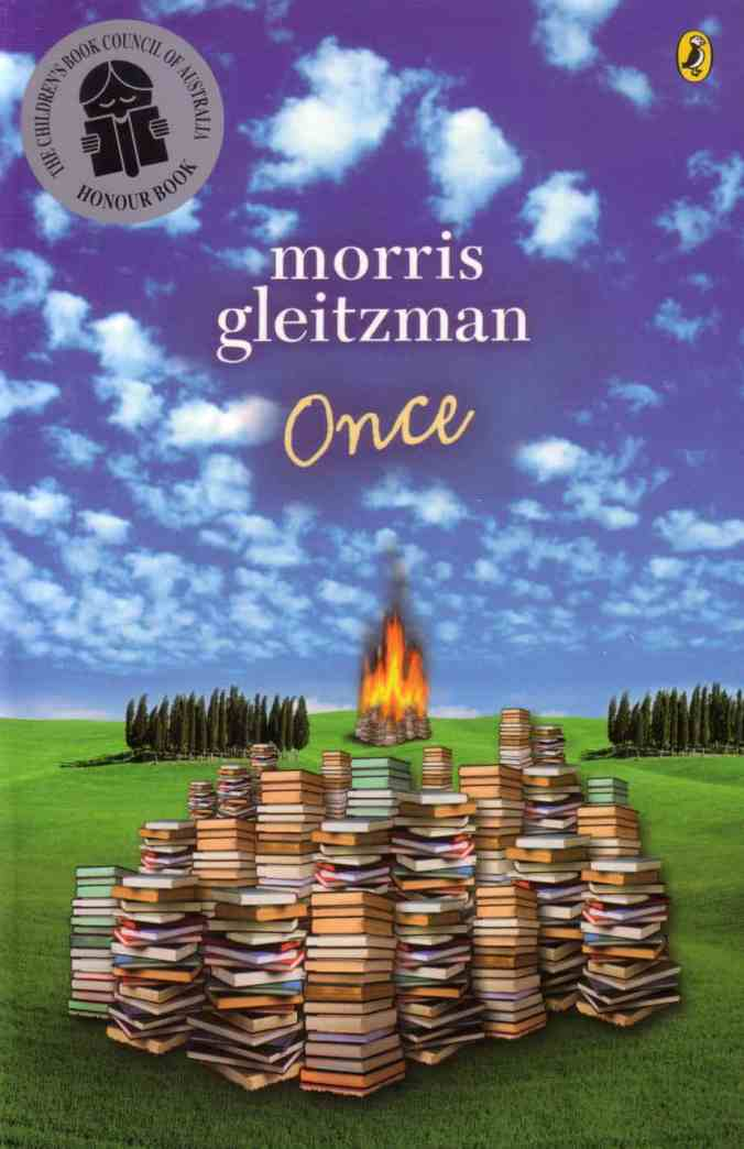 Once Morris Gleizman front cover