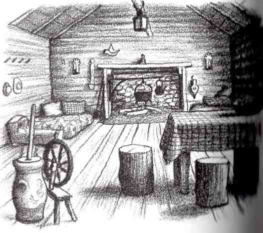 Little House On The Prairie Kitchen