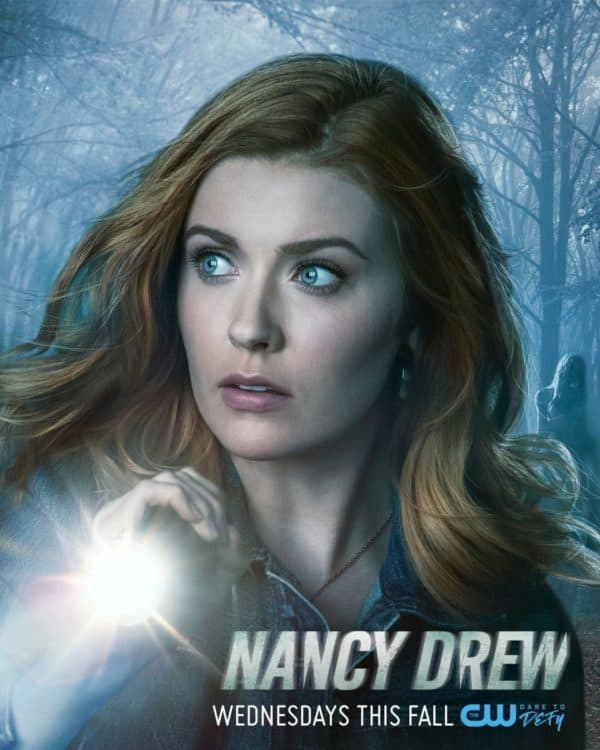 Nancy Drew TV poster with beautiful actress