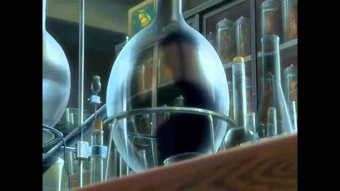 This bulbous test tube almost looks like a crystal ball.