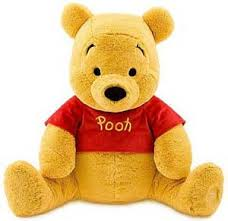 Pooh bear plush toy