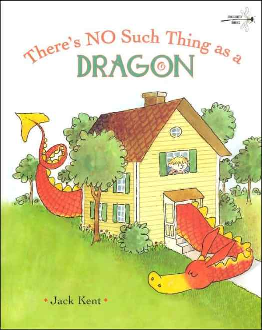 There's No Such Thing As A Dragon cover