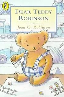 dear teddy robinson cover