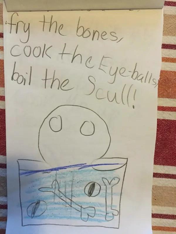 fry the bones