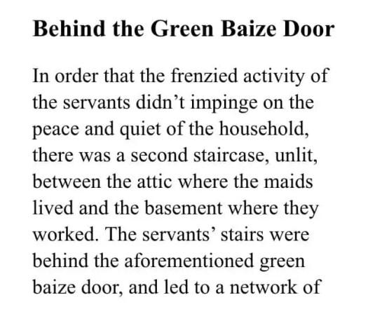 Behind The Baize Door01