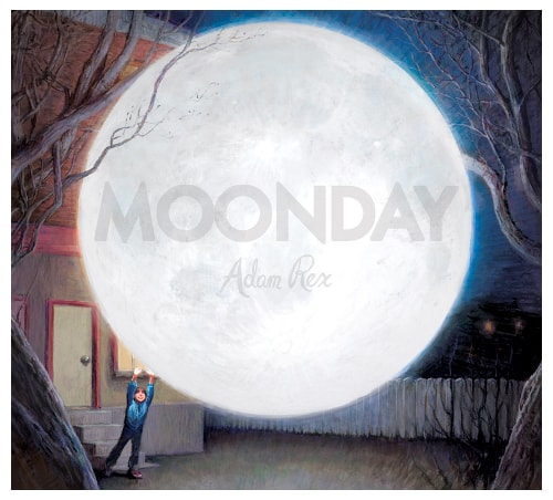 The Moonday Cover moon is massive.