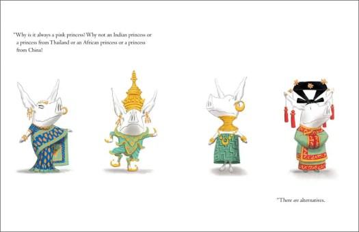 Olivia various princesses