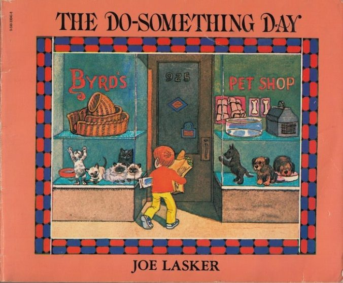 The Do-Something Day by Joe Lasker cover