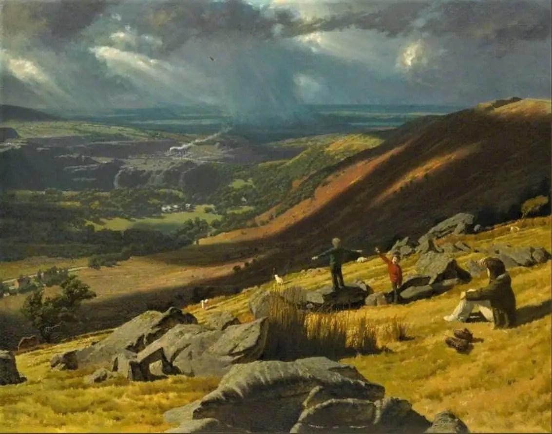 The Kestrel David James Woodford, oil on canvas, 1970s