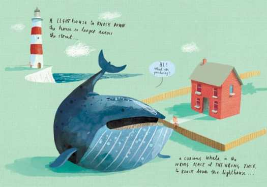 lighthouse whale