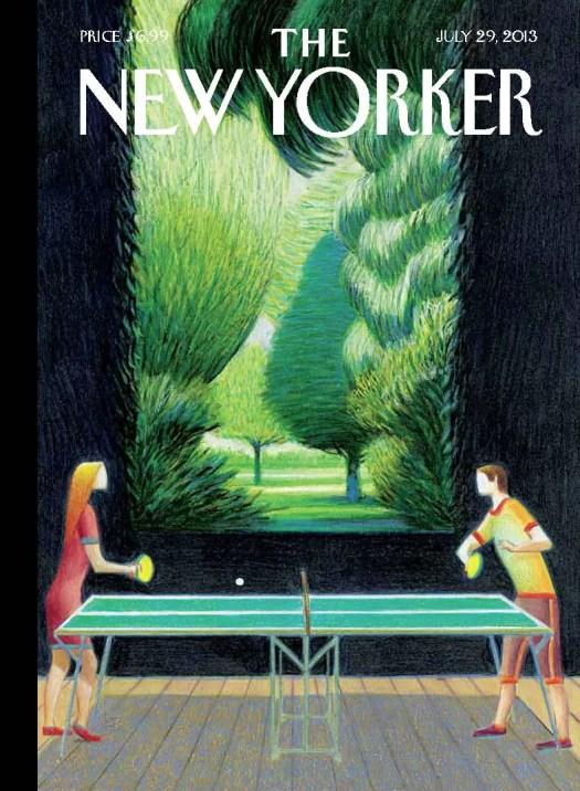 Lorenzo Mattotti New Yorker Cover