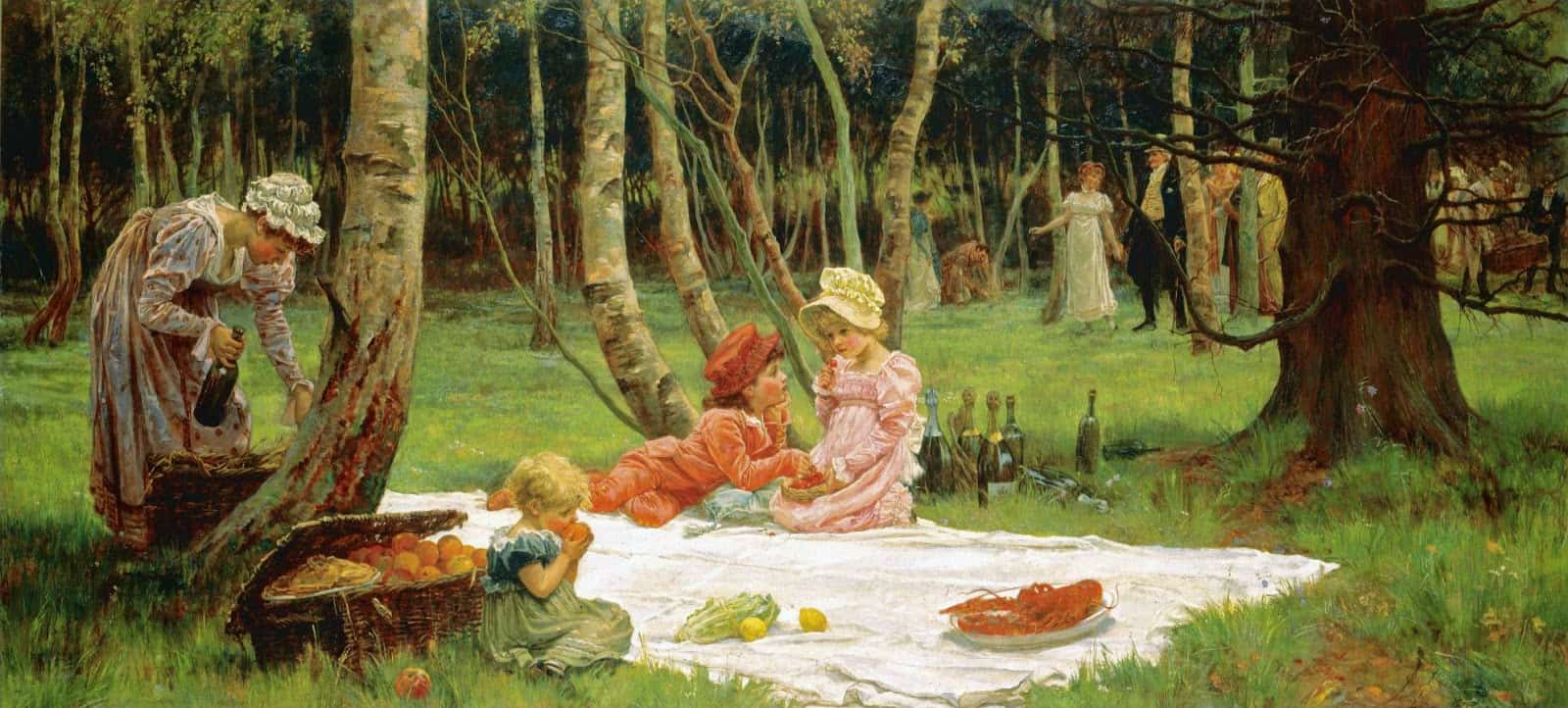 Alice Mary Havers - The First Arrivals 1881