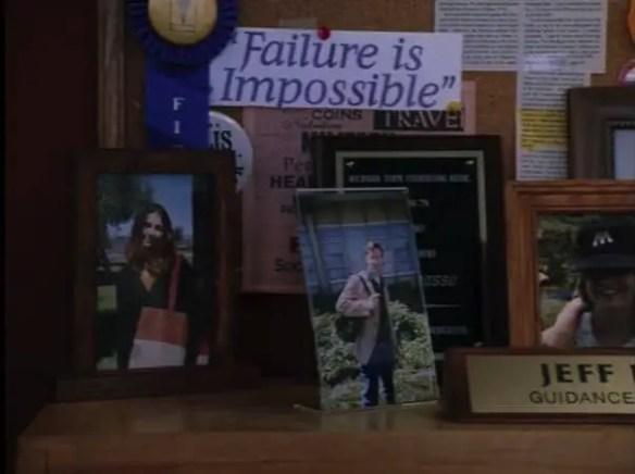 Mr Rosso's desk