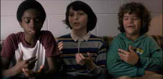 stranger things boys