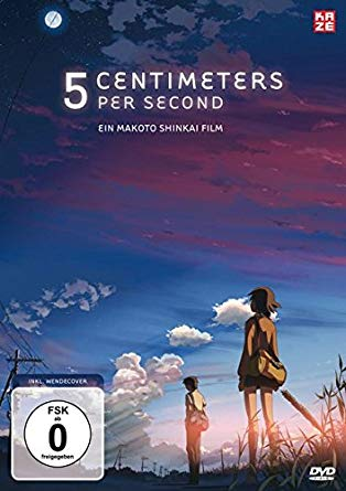 5 Centimeters Per Second English film poster