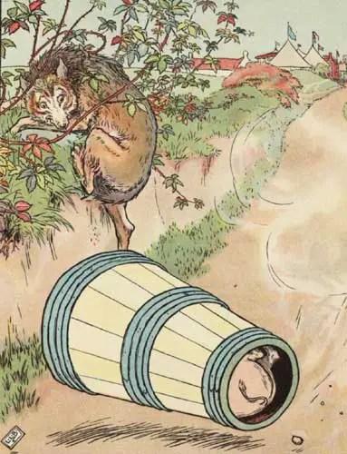 pig-in-a-churn