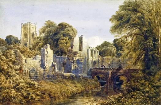 Bernard Walter Evans - Fountains Abbey