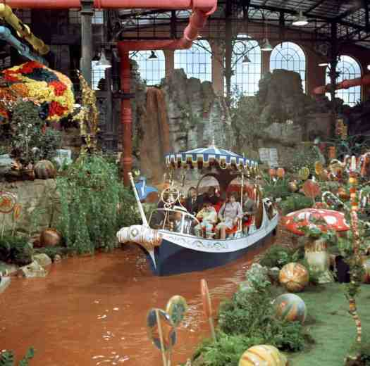 Scene from the 1970s film adaptation of Charlie And The Chocolate Factory