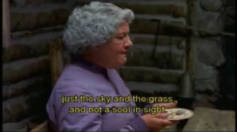 Mrs Scott from Little House On The Prairie, though this character is unsympathetic. Muriel is very likeable.