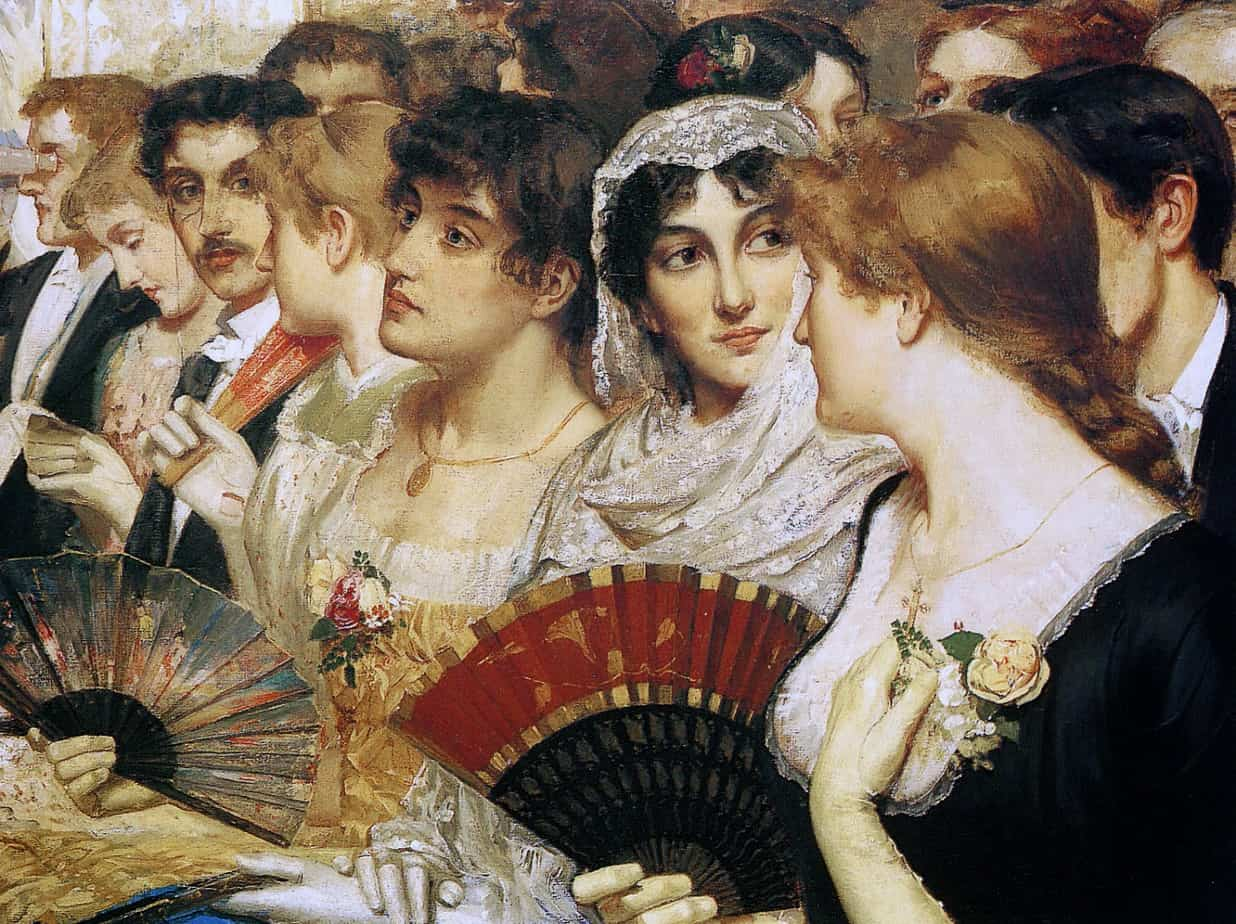 William Holyoake - Front Row at the Opera
